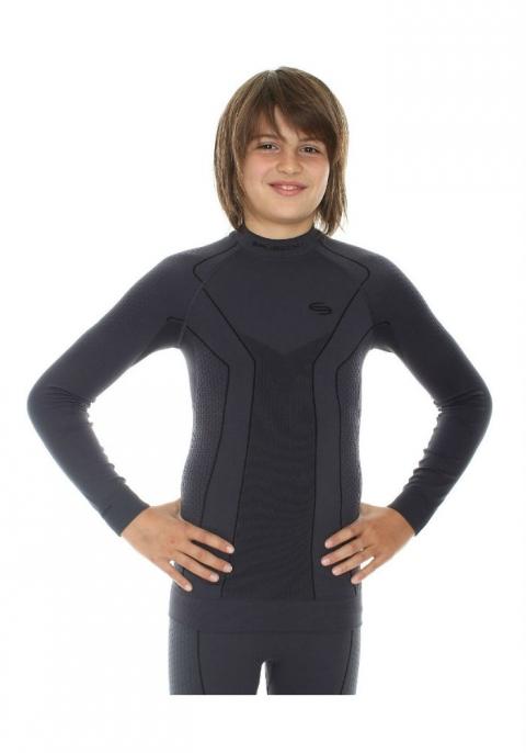 Футболка Brubeck Comfort Wool L Black LS12150 / LS12150 женская